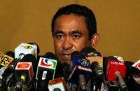 Президент Мальдівів хоче продовжити режим надзвичайного стану