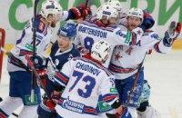 СКА одержал 6-ю кряду победу в Кубке Гагарина