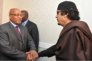 Президент ЮАР: Каддафи готов к переговорам с оппозицией