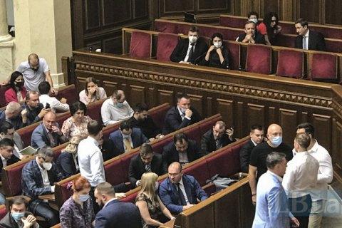 Стефанчук призвал МВД штрафовать нардепов без масок