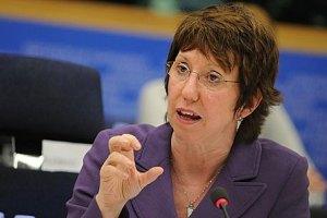 Кэтрин Эштон осудила решение России о введении войск в Украину