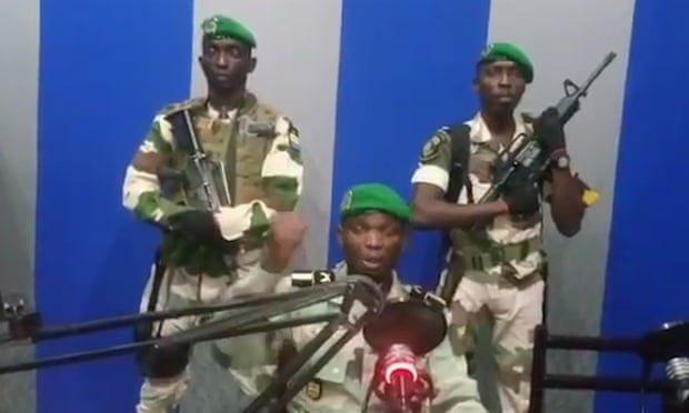 УГабоні військові оголосили про захоплення влади