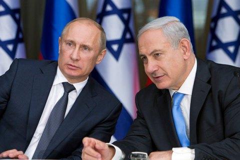 Нетаньяху розповів Путіну про контакти Ізраїлю з Україною