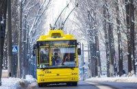 Киевскому транспорту разрешили не соблюдать график движения из-за ситуации на дорогах