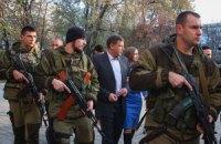 У Донецьку відбуваються арешти ватажків бойовиків ДНР