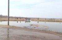 В Старобельске неизвестные открыли шлюз на реке Айдар, создав угрозу подтопления