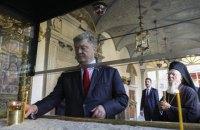 Порошенко заявив, що Варфоломію надходять погрози з Москви