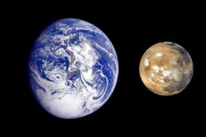 В малых размерах Марса виноваты другие планеты