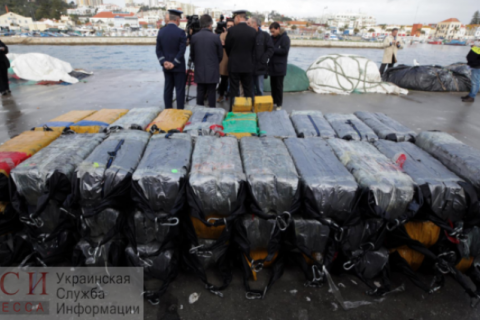В Португалии арестовали украинских моряков за перевозку 2,5 тонн кокаина