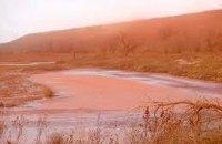 Николаевскую область снова накрыло красной пылью из завода Дерипаски
