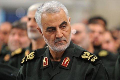 У Багдаді за наказом Трампа убито голову спецпідрозділу КВІР генерала Сулеймані