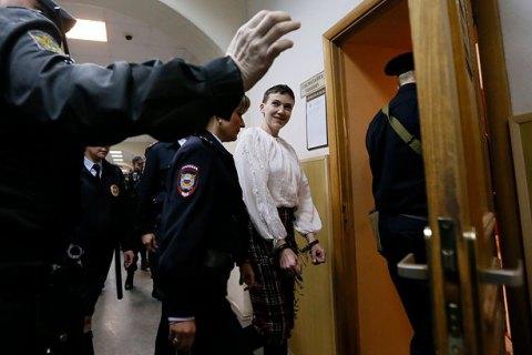Суд в Ростовской области начал рассматривать дело Савченко по существу