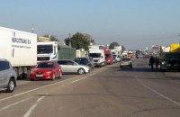 Українські водії влаштували акцію з перекриттям доріг через дорогий бензин