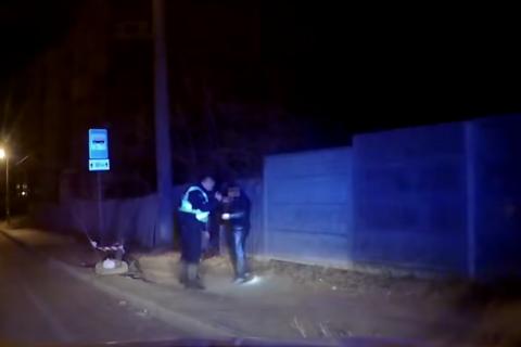 У центрі Сум п'яний іноземець без прав їхав майже 200 км/год, намагаючись сховатися від патрульних