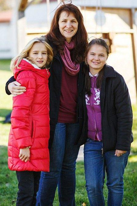 Тетя Аня с девочками
