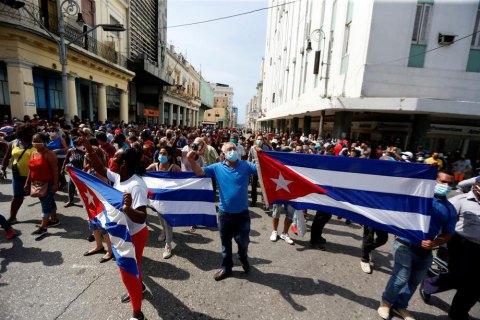 Президент Куби звинуватив США у підбурюванні до протестів