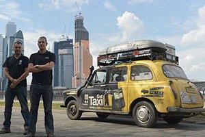 Англичане проехали на такси 69 тысяч километров