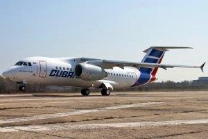 Первый серийный Ан-158 передали кубинцам