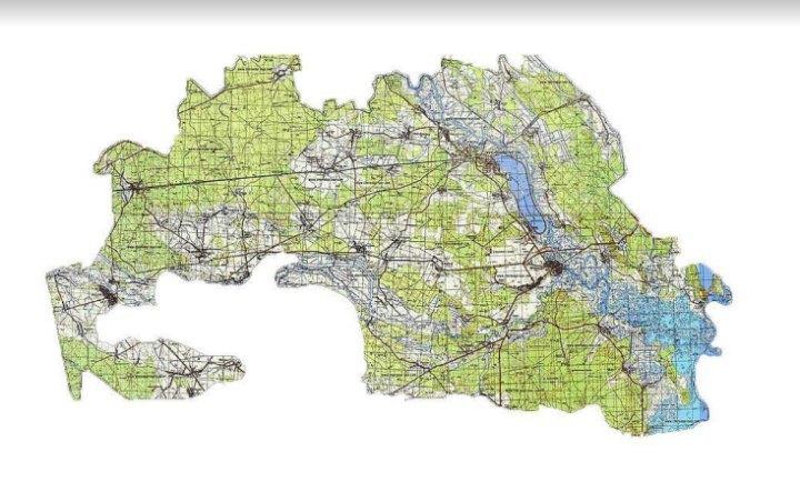 Карта зони відчуження