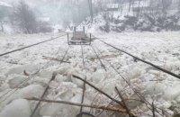 Паводок на Закарпатье пошел на спад