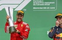 """Феттель на """"Феррарі"""" в домінантному стилі виграв Гран-прі Канади"""