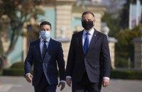 """Зеленский и Дуда обсудили """"Северный поток-2"""" и вакцину от COVID-19"""