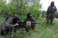 Боевики не прекратили огонь по позициям сил АТО