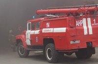 На території ЮУАЕС відбулася пожежа