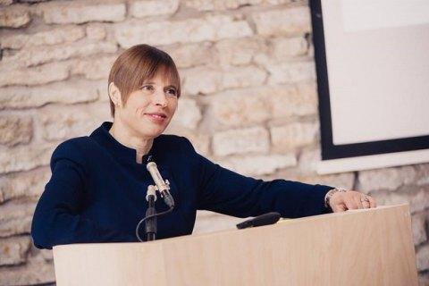 Президентка Естонії Кальюлайд увійде до наглядової ради YES