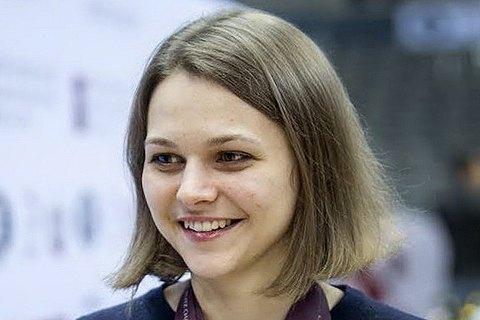 Украинка Анна Музычук стала чемпионкой Европы по быстрым шахматам