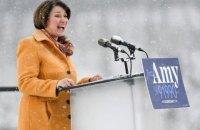 Сенаторка від Міннесоти Емі Клобушар вийшла з президентської гонки і підтримала Байдена