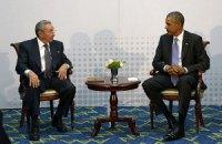Обама і Кастро провели переговори