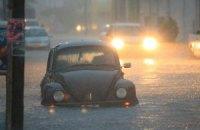 Мексиканский курорт вновь затопили сильные дожди