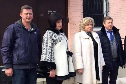Лутковську пустили до трьох українських політв'язнів у Криму