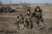 За сутки боевики 15 раз обстреляли позиции военных на Донбассе
