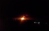 В районе Опытного близ Донецка взорвался склад боеприпасов боевиков