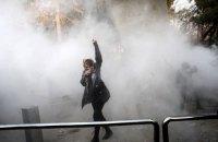 На акциях протеста в Иране погибли десять человек