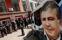 """""""Рух новых сил"""": Саакашвили находится за границей"""