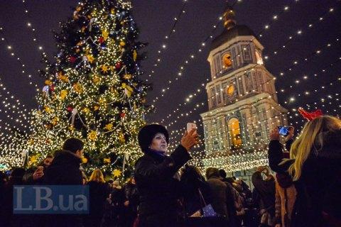 На Новый год и Рождество у украинцев будут парные тройные выходные