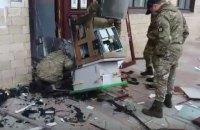 В очередном пригороде Харькова грабители взорвали банкомат