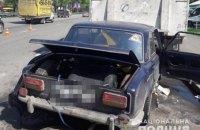 Двое военных погибли в ДТП с припаркованным грузовиком в Киеве