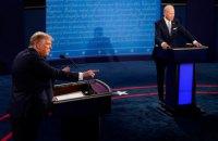 Трамп отказался от виртуальных дебатов с Байденом