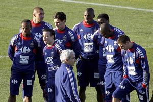 У Франції не задоволені діями збірної в обороні