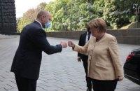 Шмигаль обговорив з Меркель питання енергетичної безпеки та євроінтеграції України