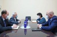 МЗС Грузії викликало українського посла через Саакашвілі