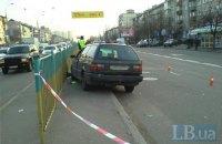 Пьяный водитель, удирая в Киеве от полиции, сбил пешехода