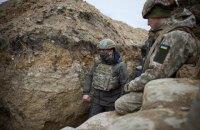 Зеленський провів ніч на Донбасі і побував на місці загибелі військових