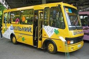 В Черкасской области ПР раздавала школьные автобусы, купленные Кабмином