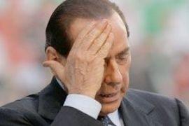 Берлускони надавали по лицу