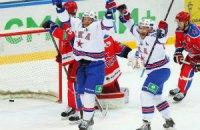 Неистовый СКА впервые в истории КХЛ выиграл серию после трех поражений
